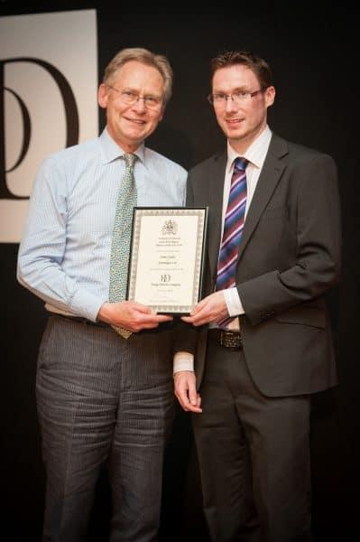 James IoD Award