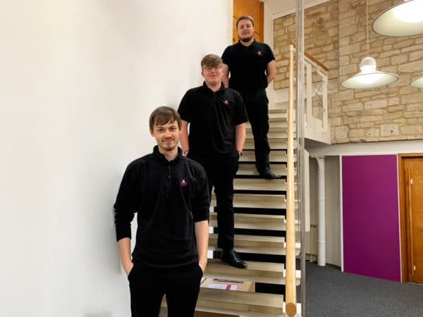 Aaron, Jamie and Callum- Systemagic New hires