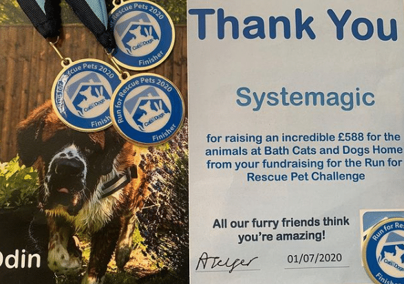 Run for Rescue Pets Medals 2020